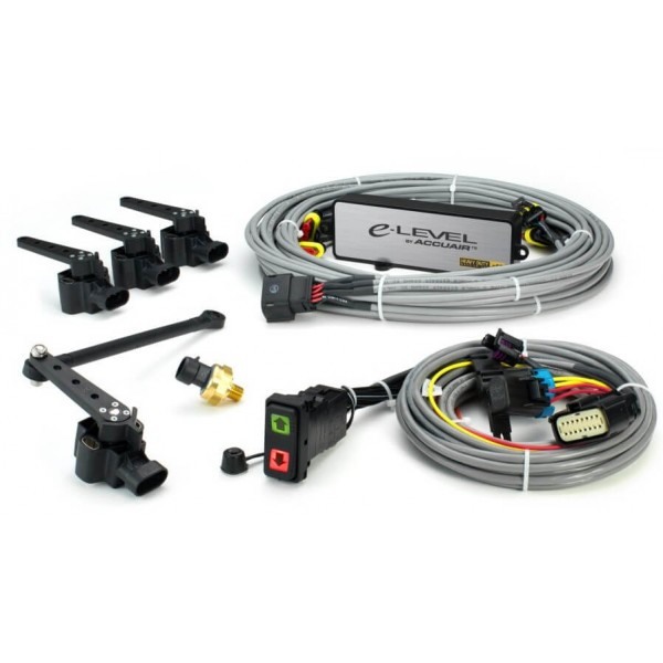 Accuair e-Level™ Electronic Leveling System 4-Corner Package With Rocker Switch