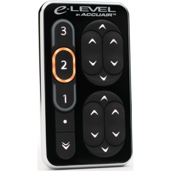 Accuair - TouchPad Interface Upgrade Kit for eLevel (Electroless Nickel)