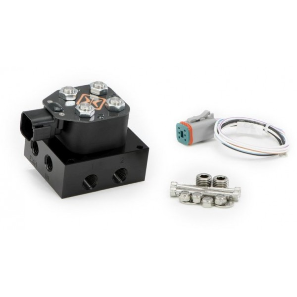 "Accuair - VU2 2-Corner Solenoid Valve Unit With 1/4"" NPT Ports"