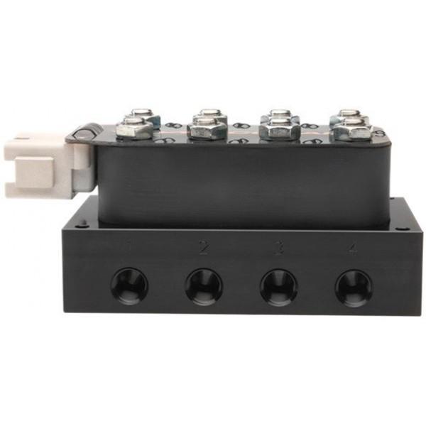 "Accuair - VU4 4-Corner Solenoid Valve Unit w/ 1/4"" NPT Ports"