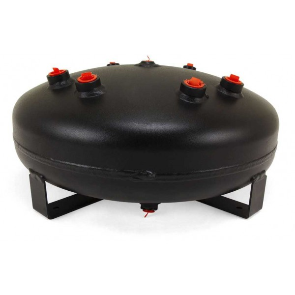 4 Gallon Steel Pancake Air Tank With Seven Ports