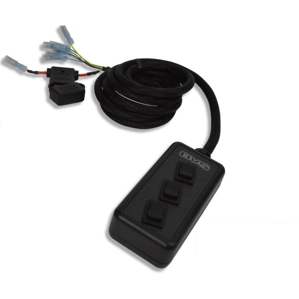 Black 3-Switch Rocker Switch Box