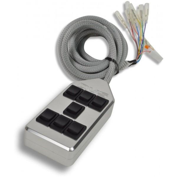 Billet 7-Switch Rocker Switch Box