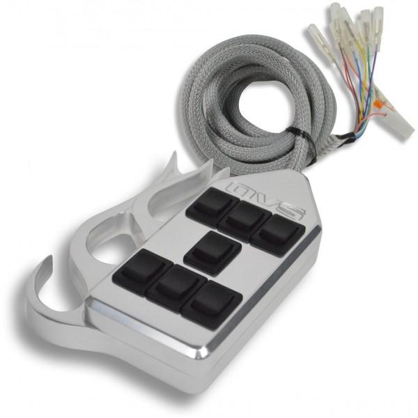Billet Flames 7-Switch Rocker Switch Box