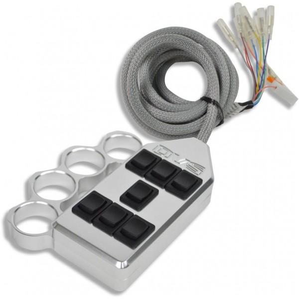 Billet Brass Knuckle 7-Switch Rocker Switch Box