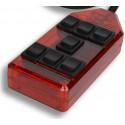 Red 7-Switch Rocker Switch Box
