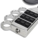 Billet Brass Knuckles 9-Switch Rocker Switch Box