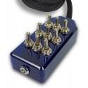 Blue 9-Switch Toggle Switch Box