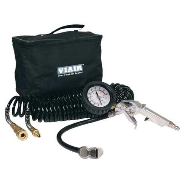 "Tire Inflation Kit (200 PSI) w/2.5"" Mechanical Gauge Tire Gun, 200 PSI, 30' Hose, Carry Bag"