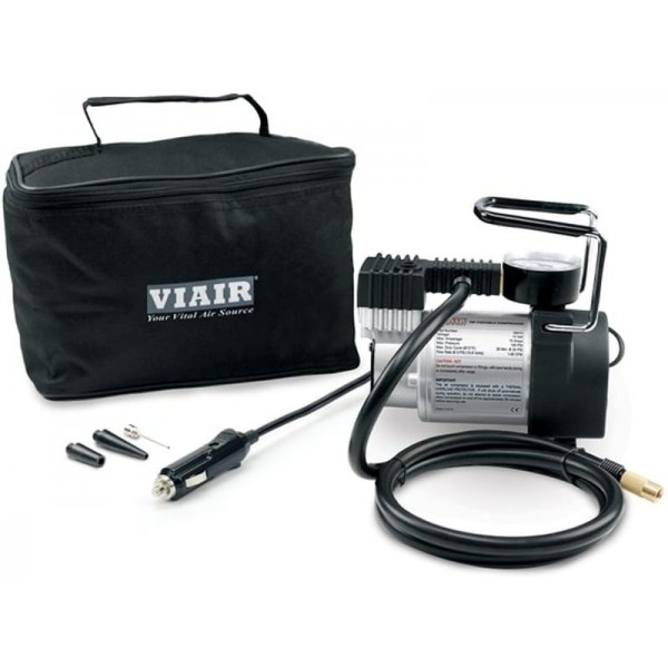 74P Portable Compressor Kit (Sport Compact Series, 12V, 100 PSI, for Passenger Car Tires, With Press-On Chuck)
