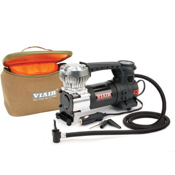 "84P Portable Compressor Kit (Sport Compact Series, 12V, 60 PSI, for Up to 31"" Tires, With Press-On Chuck)"