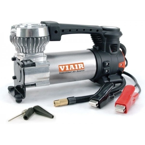 """88P Portable Compressor Kit (12V, 120 PSI, for Up to 33"""" Tires, With Twist-On Chuck)"""