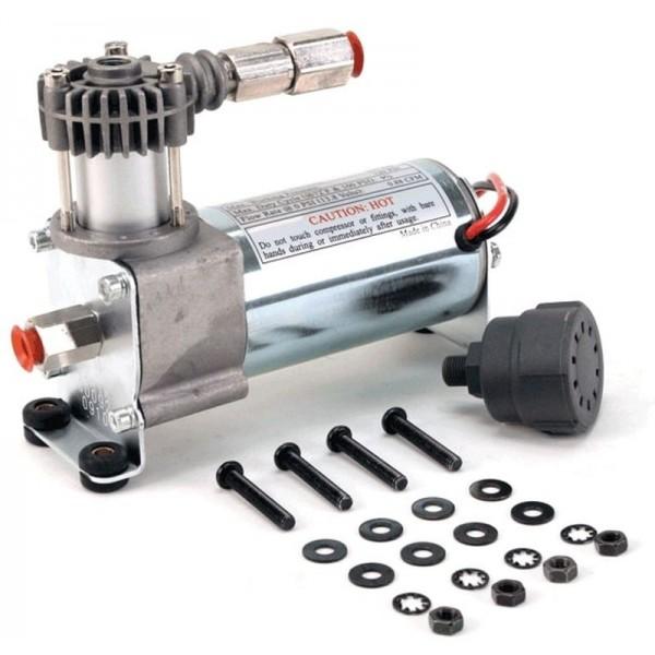 92C Compressor Kit w/ External Check Valve & Intake Filter (12V, 9% Duty, Sealed) Light Duty