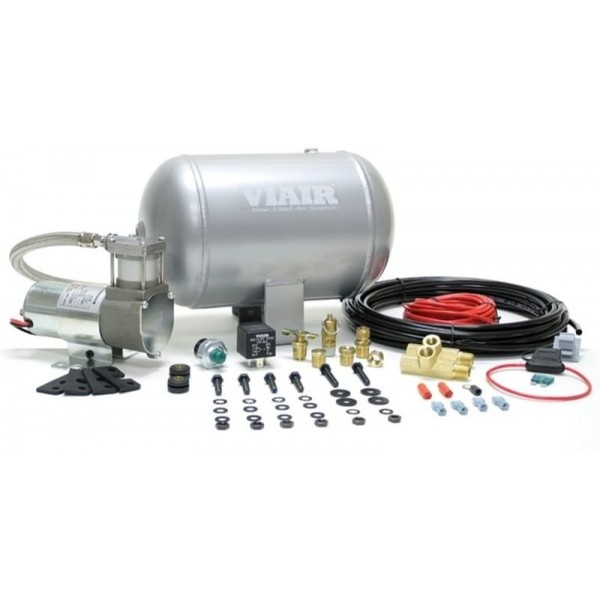 Ultra-Light Duty Onboard Air System (12V, 105 PSI Compressor, 1.0 Gal. Tank)