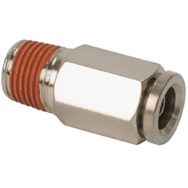 "3/8"" NPT(M) to 1/8"" Airline Straight Fitting (2 pcs) DOT Approved"