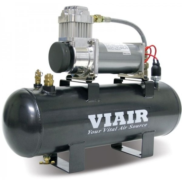 Air Source Kit - Fast Fill (12V, 200 PSI Compressor, 200 PSI 2.0 Gal. Tank Fast-Fill-200 )