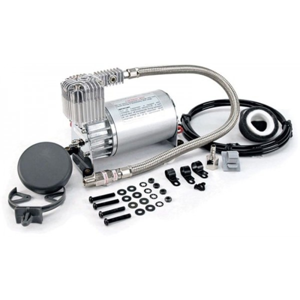 Viair part number 27520 275C air compressor compressor kit shown with included installation hardware.