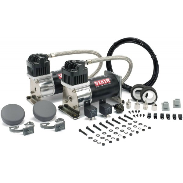 Viair 280c Dual Compressor Value Pack in Black/Silver
