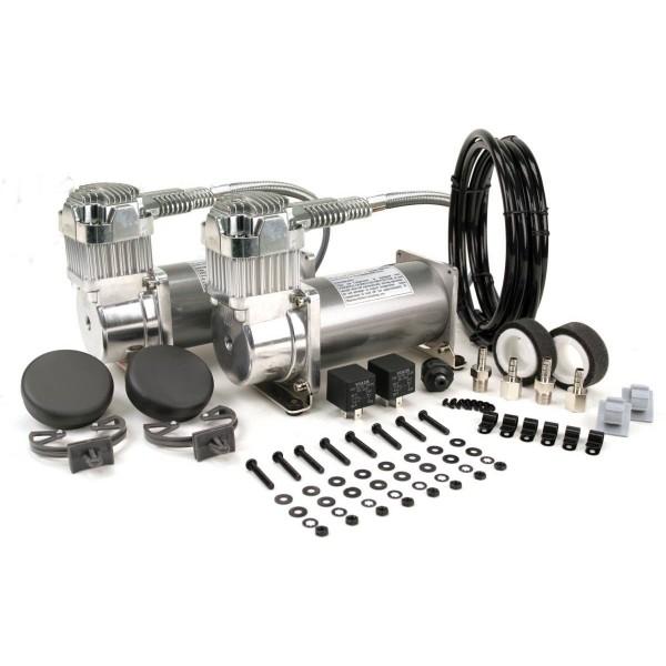 Viair 380c Dual Compressor Value Pack in Pewter