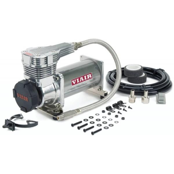"""425C 175 PSI Platinum Compressor Kit (Gen 2) w/ Matte Black Filter, 3/8"""" Port (12V, 33% Duty @ 175 PSI)"""