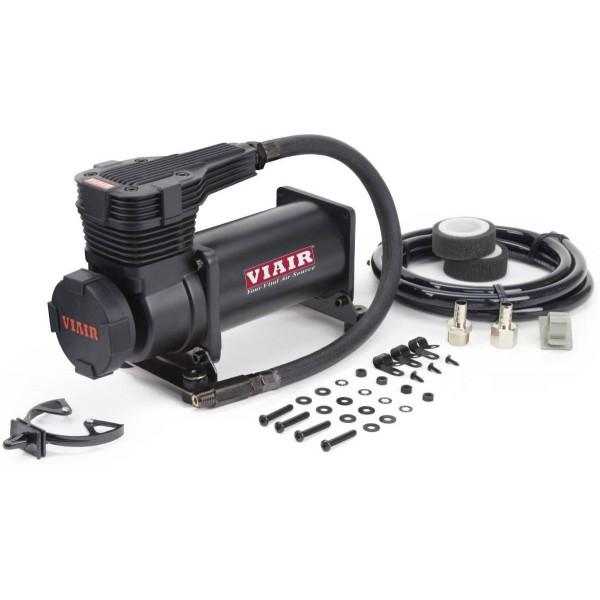 """425C 175 PSI Stealth Black Compressor Kit (Gen 2) w/ Matte Black Filter, 3/8"""" Port (12V, 33% Duty @ 175 PSI)"""