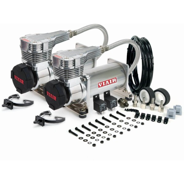 Viair 425c Dual Compressor Value Pack in Platinum (2nd Generation)