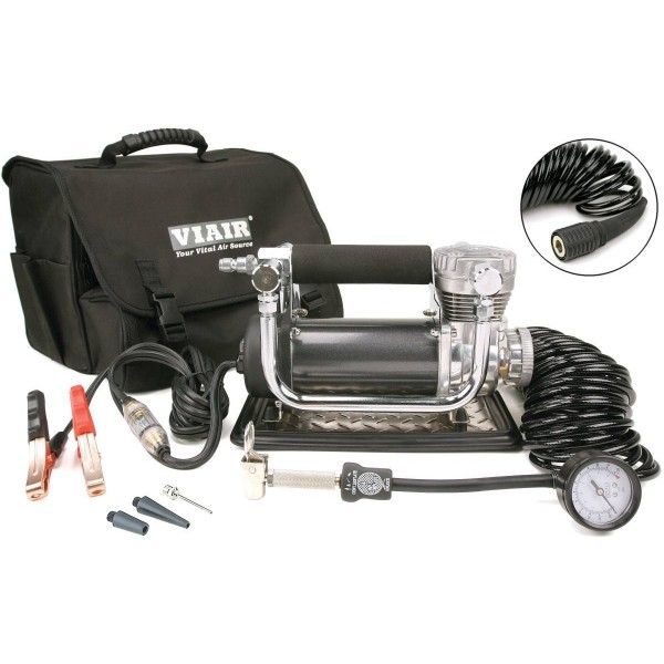 440P Portable Compressor Kit (12V, CE, 33% Duty, 150 PSI, 30 Min. @ 30 PSI)