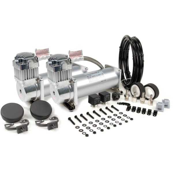 Viair 450c Dual Compressor Value Pack in Silver