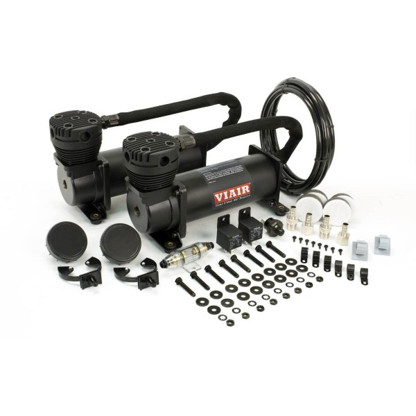 Viair 480c Dual Compressor Value Pack in Stealth Black