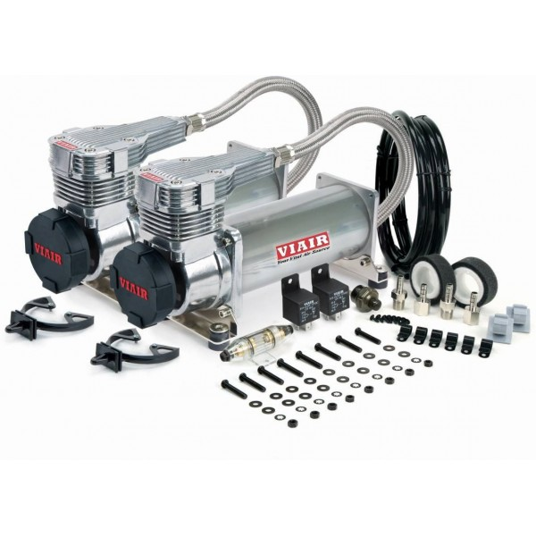 Viair 485c Dual Compressor Value Pack in Platinum (2nd Generation)
