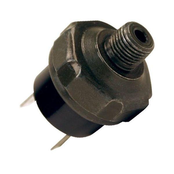 "Pressure Switch, 1/8"" M NPT Port, 1/4"" Spade Connectors (165 PSI On, 200 PSI Off)"