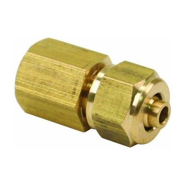 """1/8"""" Female NPT to 1/4"""" Compression Fitting (for 1/4"""" Air Line)"""