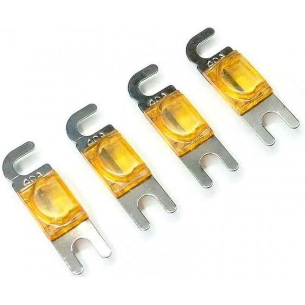 40 Amp Mini ANL Fuse, 4 Pc / Blister Pack